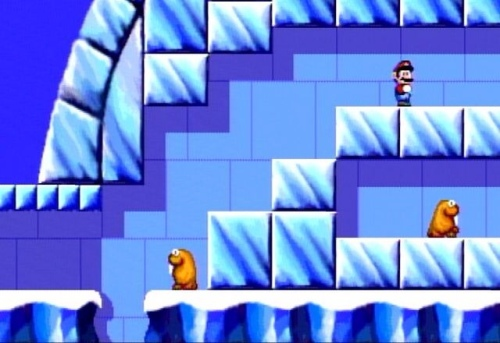 Ice Level2 Unseen Super Mario Levels CD-i