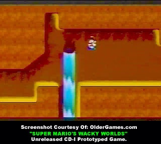 Waterfall Level Unseen Super Mario Levels CD-i