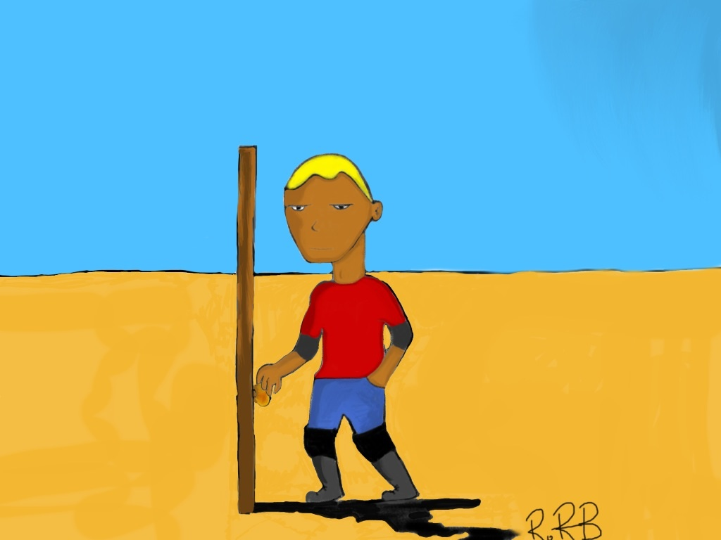 My Drawing - Desert