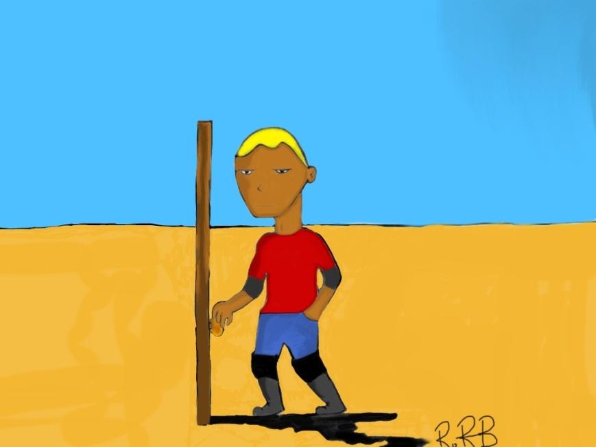 My Drawing - Desert