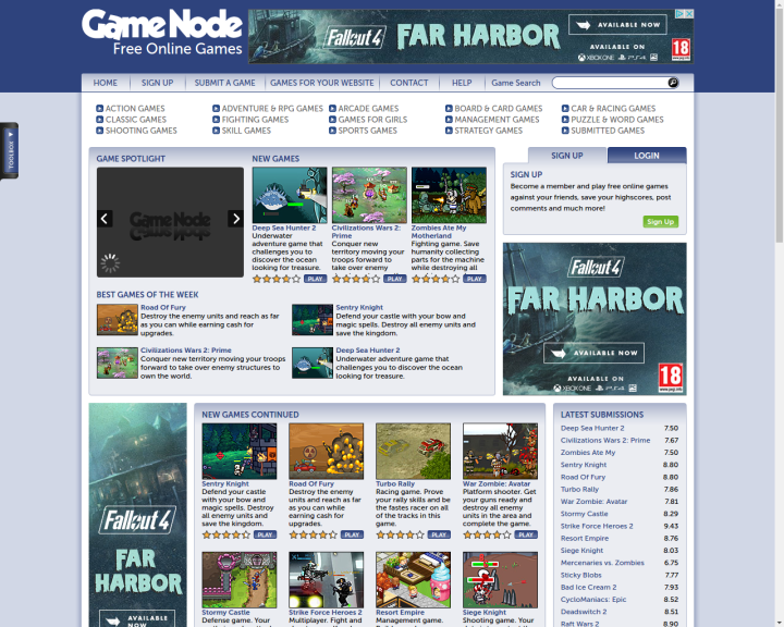 game-node-free-online-games