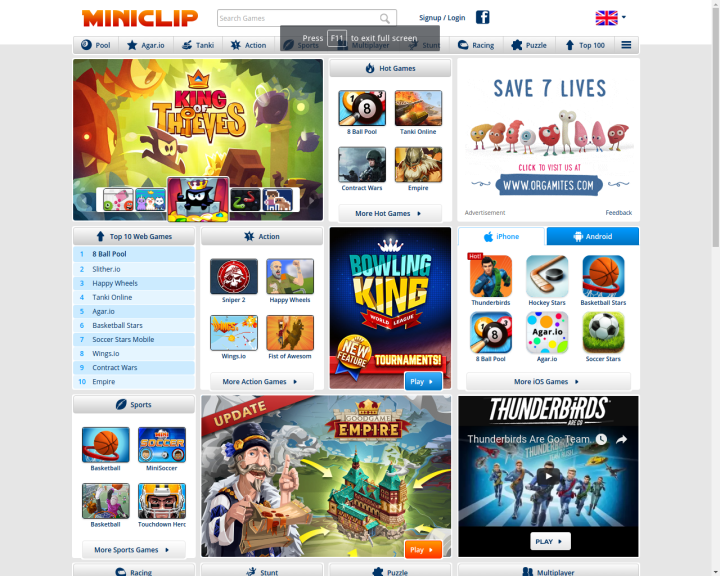 Miniclip-free-online-games