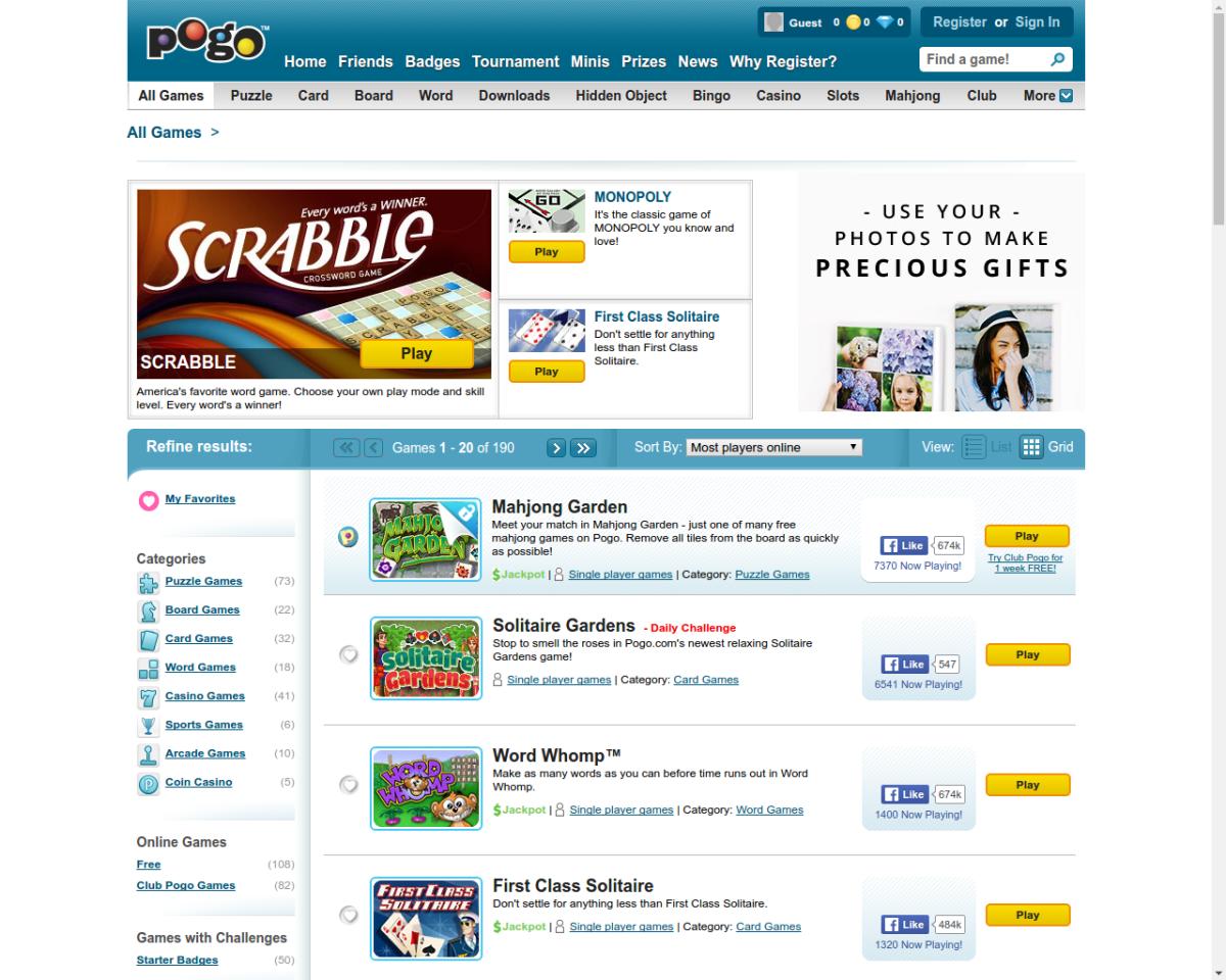 Pogo-free-online-games